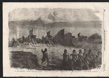 1855 IN THE TRENCHES BEFORE SEBASTOPOL CRIMEAN WAR