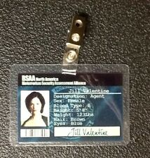 Resident Evil ID Badge-BSAA Jill Valentine prop costume cosplay