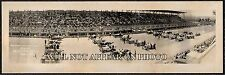 1916 Cincinnati Motor Speedway 1st Int'l Sweepstake Race Vintage Panoramic Photo