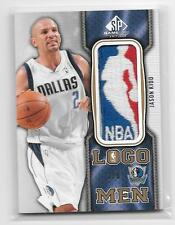 #1/8 JASON KIDD 2009/2010 SP GAME USED NBA LOGOMAN LOGOMEN PATCH MAVERICKS !
