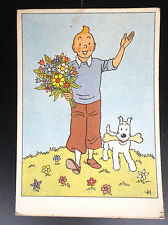 Ancienne carte postale Casterman Tintin BE