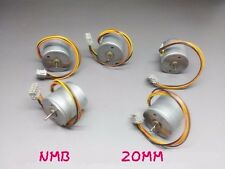 1Pcs Stepper Motor 20BY-37 NMB 20MM 2-phase 4-wire Round Micro Stepper Motors