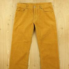 UNIQLO men's corduroy pants jeans trousers, size 36 x 34, 5 pocket