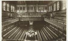 Sepia Postcard of The House of Commons, Westminster