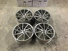 "19"" Veemann FS10 Alloy Wheels - Silver Machined - VW / Audi / Mercedes - 5x112"