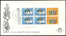 Netherlands 1983 Christmas M/S FDC First Day Cover #C20284