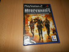 Mercenaries Playground of Destruction - Sony PS2 - UK PAL  NEW SEALED