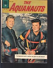 AQUANAUTS  #1197 DELL/ 4-COLOR 1961 VG  MOVIE/ TV SERIES, PHOTO-c