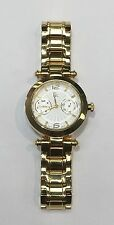 Authentic Guess Collection I25011L1 Gold Stainless-Steel Swiss Quartz Watch