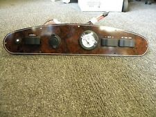 "STARCRAFT SWITCH / VOLT GAUGE / 12 VOLT PLUG PANEL 18"" X 3 3/4"" MARINE BOAT"
