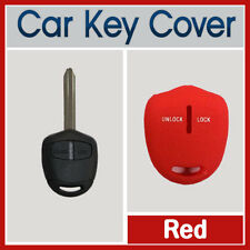 MITSUBISHI LANCER PAJERO OUTLANDER EVO TRITON 2B KEY SILICONE CAR COVER RED 1PC