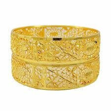 Bollywood Indian Ethnic 2Pcs Bangles Set Asian Traditional Jewelry 2*12 BSG1442C