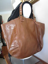 Superbe sac Gérard Darel cabas simple bag camel