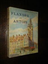 FLANDRE ET ARTOIS - A Mabille de Poncheville 1938 Nord Pas-de-Calais Belgique b