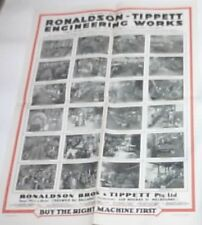Ronaldson Tippett Engineering Works Poster (Original)
