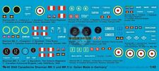 Peddinghaus 1/48 Canadian M4A1 / M4A4 Sherman Markings in Italy (8 tanks) EP3040