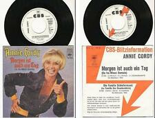 ANNIE CORDY 45 TOURS GERMANY PROMO MORGEN IST AUCH EIN TAG
