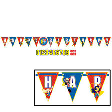 DC Super Hero Girls Add an Age Happy Birthday Jumbo Letter Banner Kit '