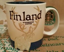 Starbucks Coffee Mug/Tasse/Becher FINLAND/Finnland,Global Icon,NEU mit Sticker!!
