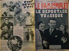 """FILM COMPLET 1935 N 1671 """" LE REPORTAGE TRAGIQUE """"avec LEW CODY et MARY NOLAN"""