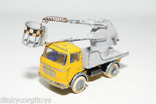 FJ FRANCE JOUETS BERLIET GAK WORKING ELEVATOR YELLOW GREY EXCELLENT CONDITION