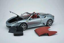 1:18 BBR Ferrari F430 Spyder Silver Limited Edition