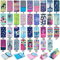Flip Wallet PU Leather Phone Case Cover For Samsung Galaxy S3 S4 S5 S6 Edge Note