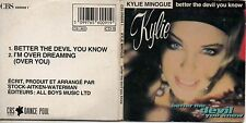 """CD SINGLE Kylie MINOGUE Better The Devil You Know 2-TRACK card sleeve cd3"""" gatef"""