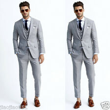 Slim Fit Business Tuxedos Formal Party Best Men Suits Wedding Groom Suits Custom