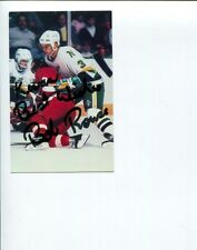 Bob Rouse Minnesota North Stars Detroit Red Wings Stanley Cup Champ Signed Photo