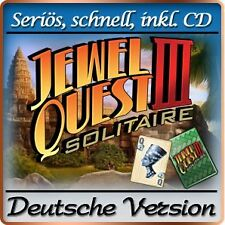 Jewel Quest Solitaire III 3 DELUXE - Windows XP / VISTA / 7 / 8