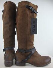 REPLAY Damen Hochschaftstiefel Stiefel Boots Leder Braun Gr.37 NEU mit ETIKETT