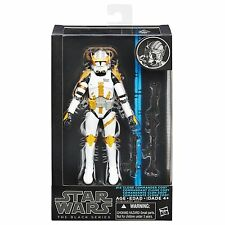 "Hasbro Star Wars The Black Series 6"" W2/15 #14 Clone Commander Cody Figure"