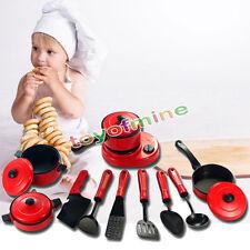 11pcs Bambini utensili da cucina Articoli casalinghi Finta Play Toy Fornello