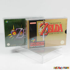 10 x SNES N64 Game Box Protectors ULTRA STRONG 0.5mm PET Plastic Super Nintendo