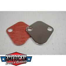 Benzinpumpenabdeckung Chevrolet Big Block v8, V6 - Fuel Pump Block Off Plate