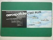 6/1983 PUB AEROSPATIALE HELICOPTERE DAUPHIN 2 SUPER PUMA ECUREUIL 2 FRENCH AD