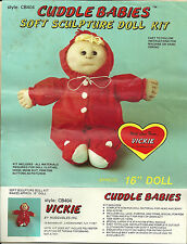 How To Make Cuddle Babies Soft Sculpture Doll Instructions Vickie Huggable