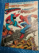 DC & MARVEL Battle of the Century SUPERMAN VS SPIDERMAN 37995 FN 1976