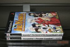 Inuyasha Cursed Mask + Feudal Combat (PlayStation 2, PS2 2005) Y-FOLD SEALED!