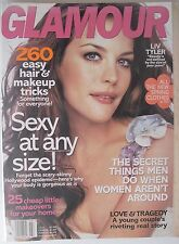 LIV TYLER March 2007 GLAMOUR Magazine