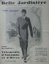 PUBLICITE BELLE JARDINIERE VETEMENT UNIFORME COLLEGIEN DE 1926 AD PUB ART DECO