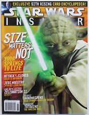 Star Wars Insider #61 2002 Magazine Yoda Cover Attact of the Clones (M522)