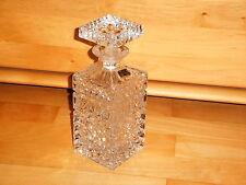 Whisky Whiskey Kristall Karaffe Lausitzer Glas Handschliff schwere Ausführung