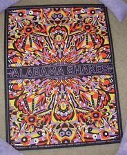 ALABAMA SHAKES concert gig poster BEACON NEW YORK March 2015 Tour Nate Duval