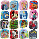 Kids Boys Girls Disney Backpack School Bag Rucksack Childrens Lunch Bag