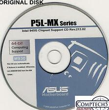 ASUS GENUINE VINTAGE ORIGINAL DISK FOR P5L-MX P5PL2 P5LD2-SE P5LD2E P5LD2 M930