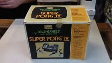 VINTAGE - ATARI SUPER PONG 4 / Tele-Games / SEARS GAME SYSTEM IN BOX - RARE !!