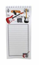 Magnetic Fender Guitar Shopping List - Music Themed Gift - Musical Stationery