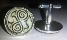 L@@K! Doctor Who Seal of Rassilon Cuff links /Cufflinks - Whovian Themed Wedding
